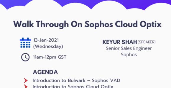 Introduction to Sophos Cloud Optix
