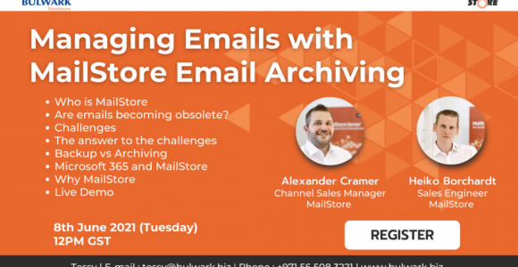 Managing Emails with MailStore Email Archiving